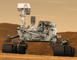 Robot NASA Curiosity na prieskum marsu. Foto: NASA