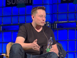 "Elon Musk na ""The Summit 2013"""
