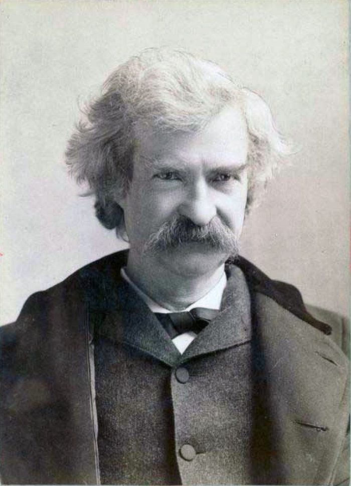 Samuel Langhorne Clemens známy ako Mark Twain