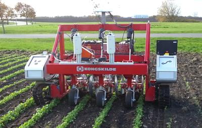 Poľnohospodársky robot Armadillo Kongskilde