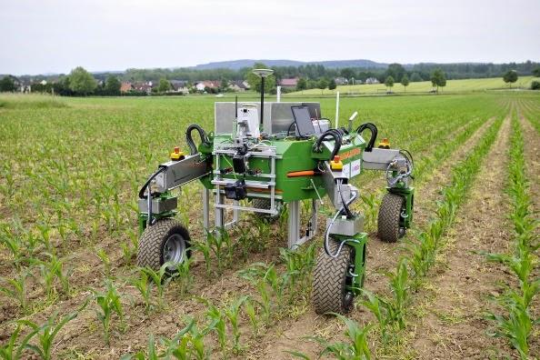 Poľnohospodársky robot BONIROB