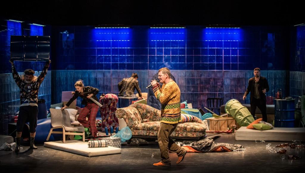 Predstavenie Wrog ludu (Nepriateľ ľudu) (foto: M. Hueckel)