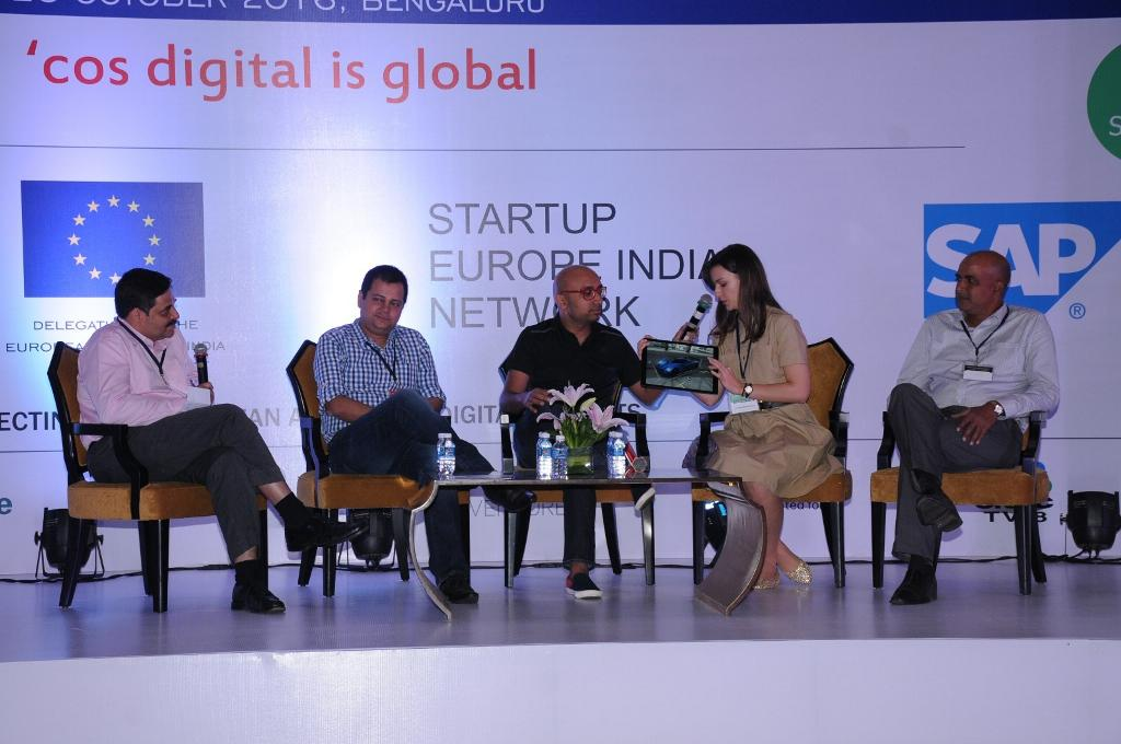 Ixworx na prezentácii v Indii na Startup Europe India Network