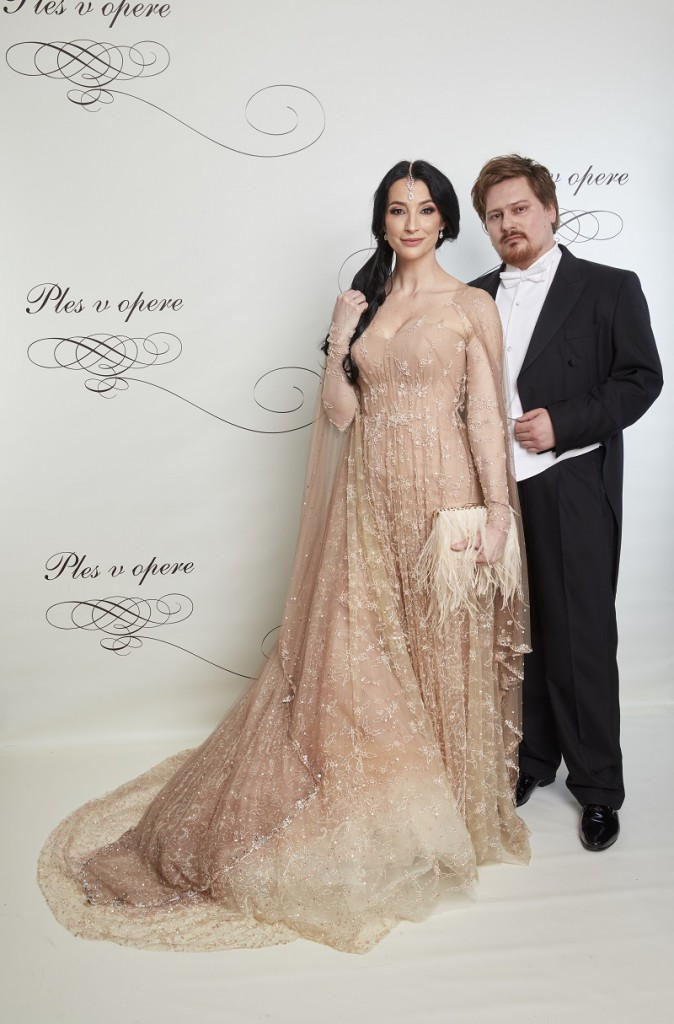 Boris Hanečka,módny návrhár, Lucia Hablovičová