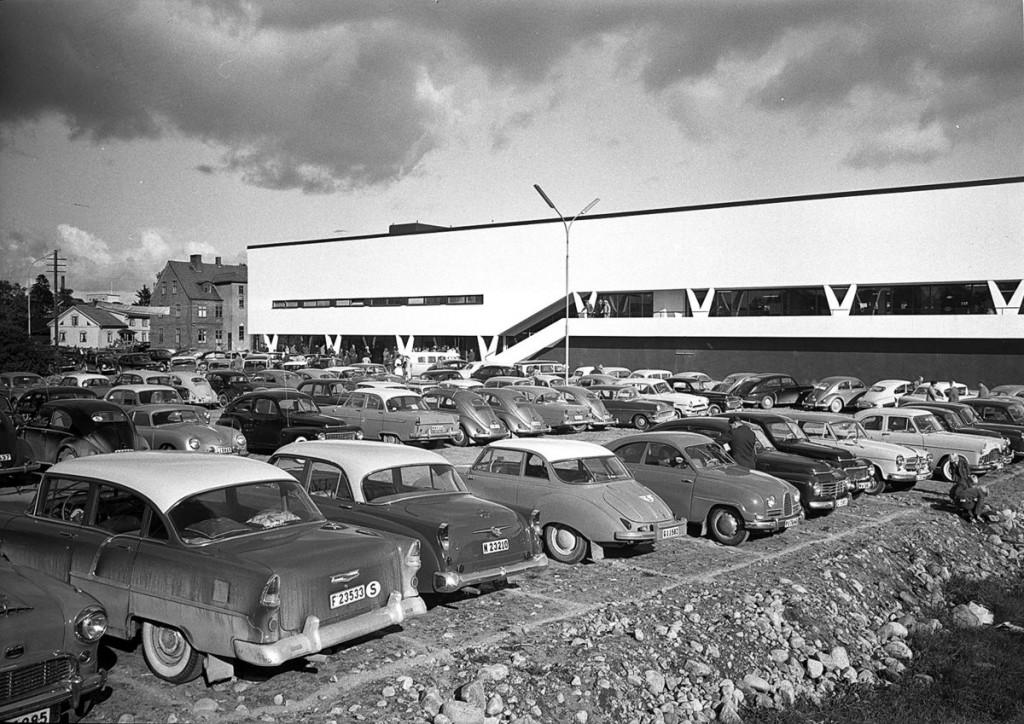 Prvá predajňa IKEA v meste Älmhult je dnes múzeom spoločnosti.