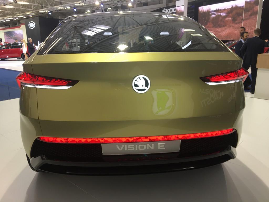 Koncepčný elektromobil Škoda Vision E
