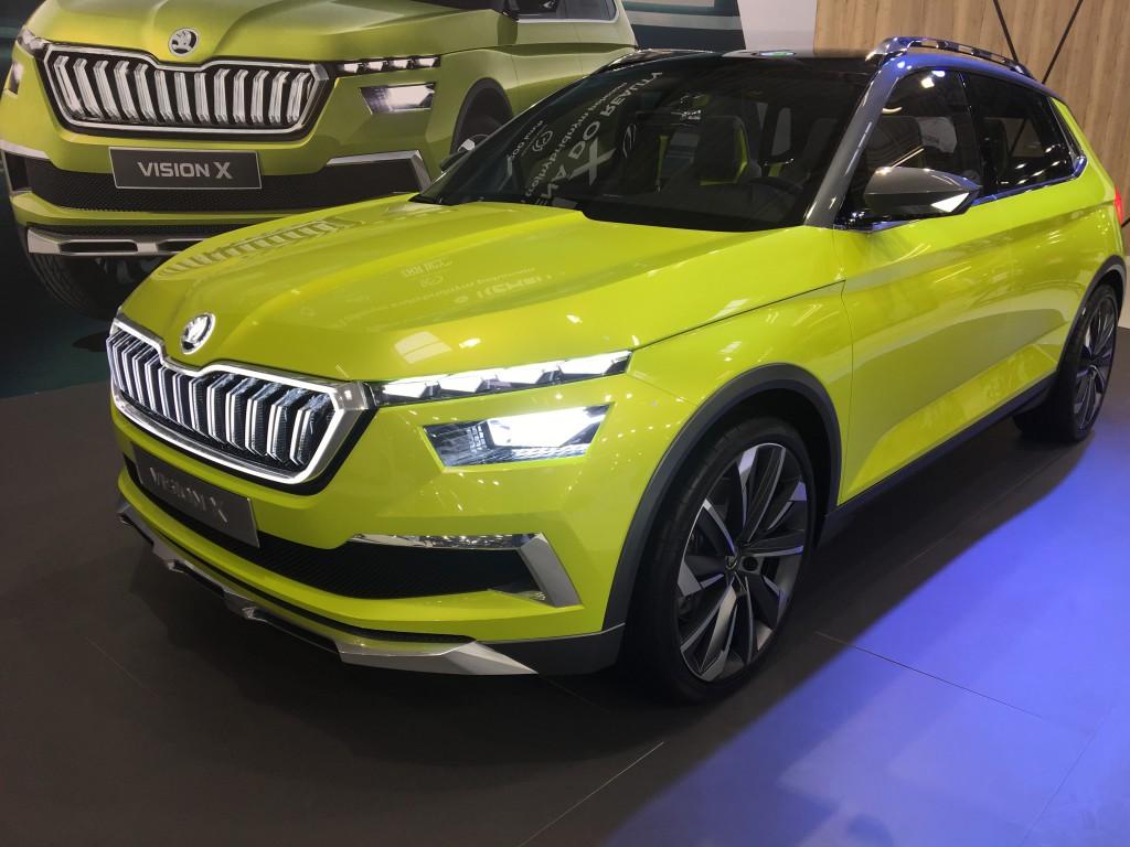 Koncepčný elektromobil Škoda Vision X