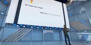 google asistent vola do kadernictva