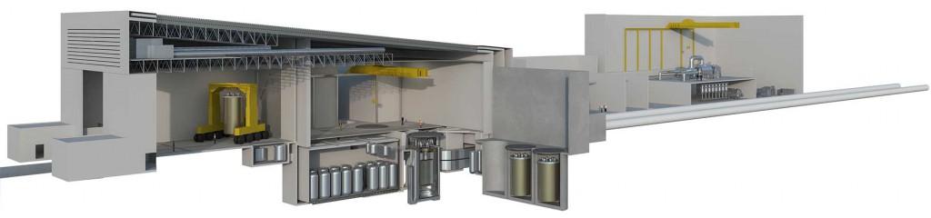Malý modulovateľný jadrový reaktor IMSR od Terrestrial Energy