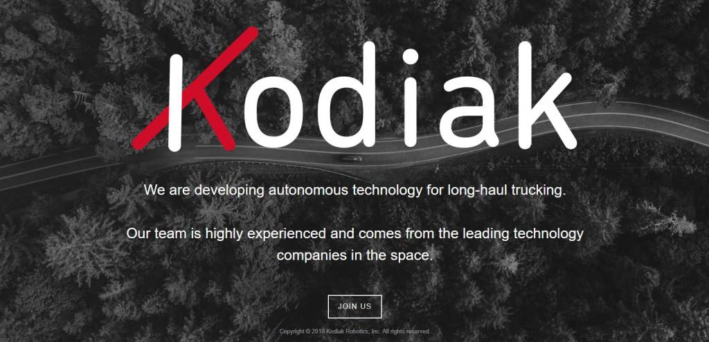 Startup Kodiak Robotics aktuálne hľadá IT špecialistov, o presnom modeli svojho fungovania zatiaľ neinformuje ani na svojom webe.
