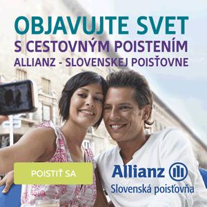 Allianz Slovenská poisťovňa - Objavujte svet s cestovným poistením