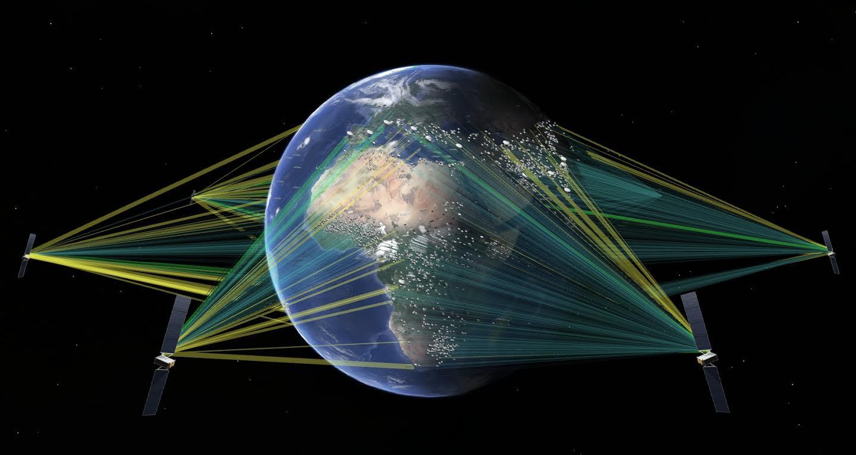 SpaceX vynáša satelity SES na nízky orbit Zeme