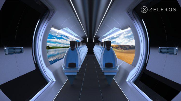 Dizajn vlaku Hyperloop