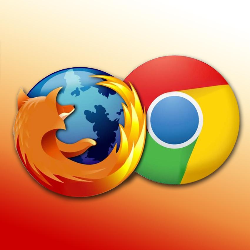 Mozilla Firefox a Google Chrome