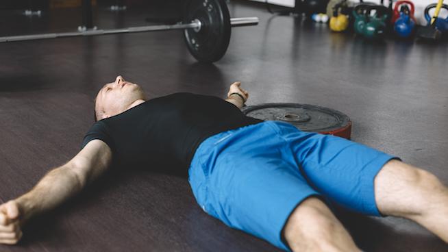 Muž so zlyhaním svalov