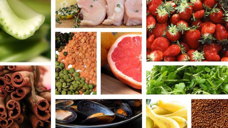 Kalórie v zdravých jedlách