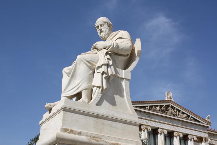 Socha Platóna