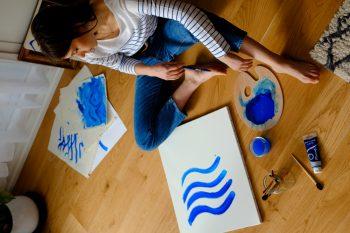 ako začať maľovať