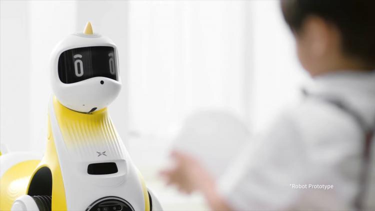 robotický jednorožec