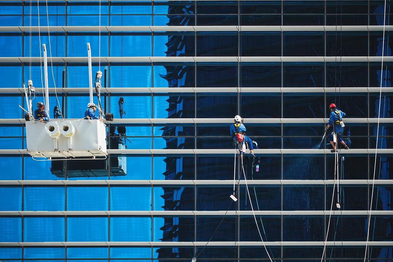 umývanie mrakodrapov