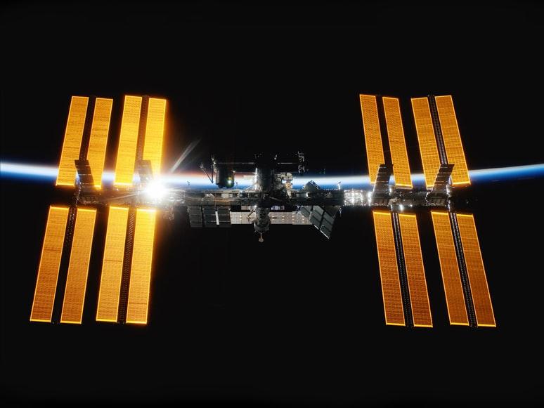 Medzinárodná vesmírna stanica (ISS) na ktorej sa bude film odohrávať [NASA]